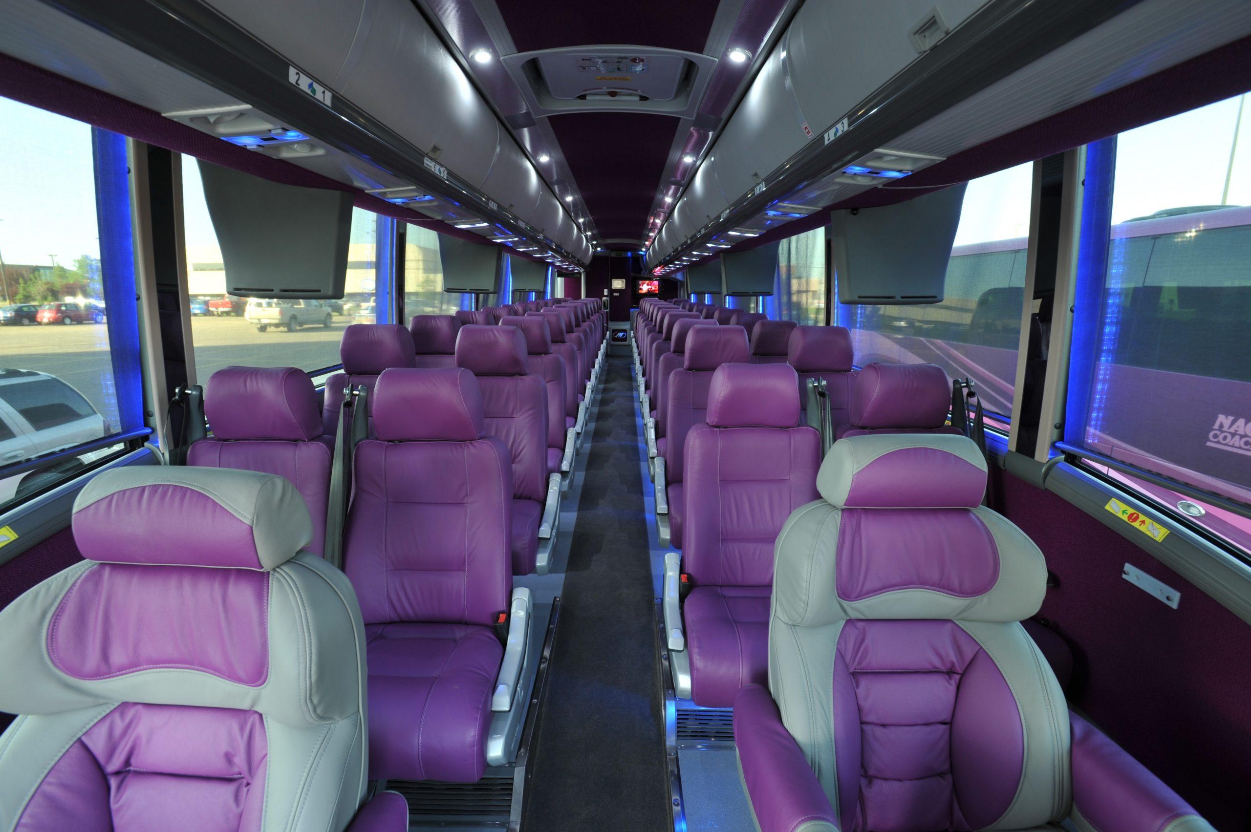 Interior of Nagel Coach 50 seats
