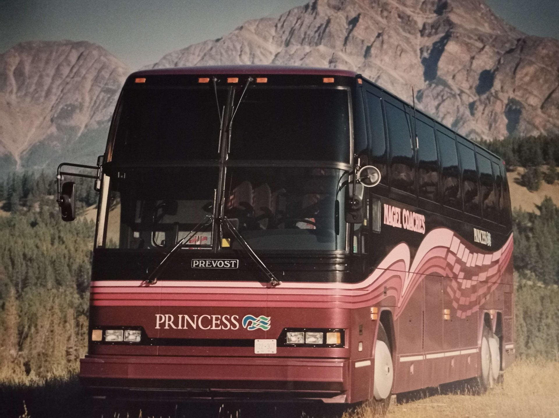 Nagel Prevost coach for Princess Cruises
