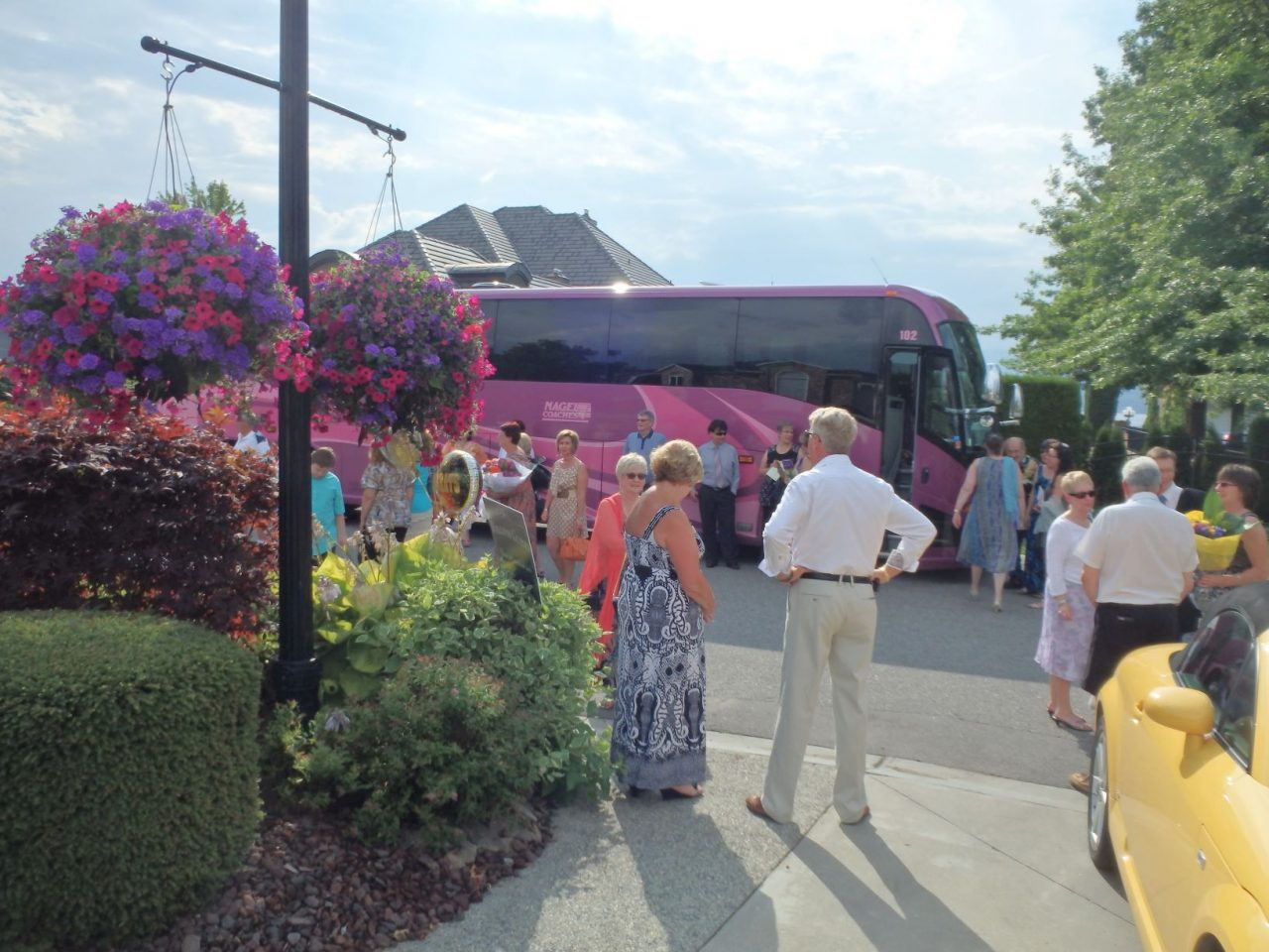 Nagel Coach with party passengers
